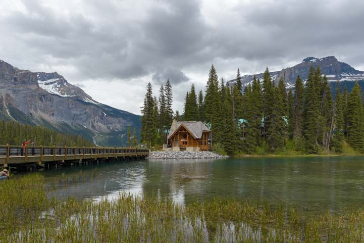 Emerald Lake Yoho National Park British Columbia Canadian Rockies