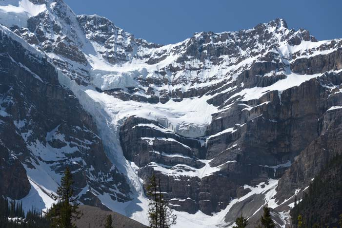 Avalanches Icefields Parkway Banff National Park Alberta Canada