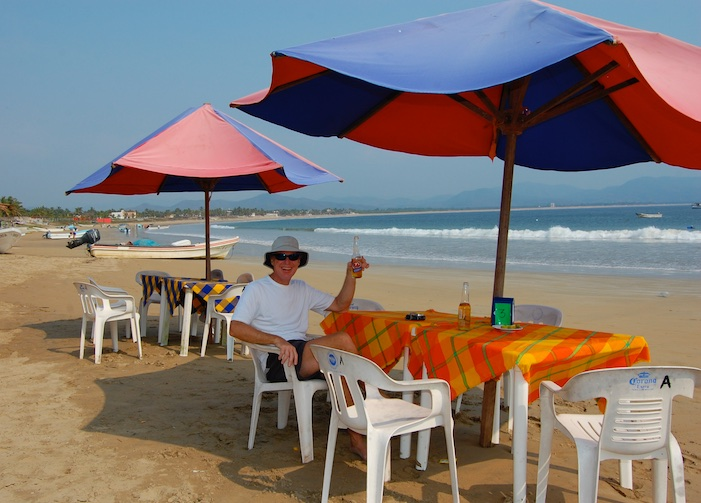 Perula Chamela Bay Beer on the Beach Costalegre Mexico Pacific Coast (1)