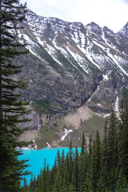 Lake Louise Glimpse Banff National Park Canada