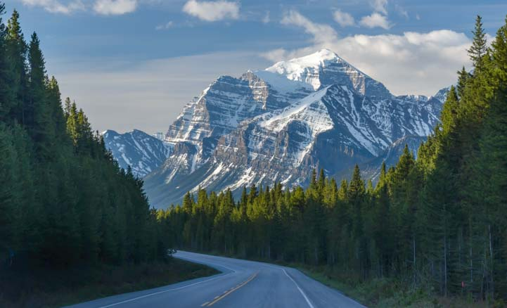 Canadian Rocky Mountains Icefields Parkway Banff National Park Canada