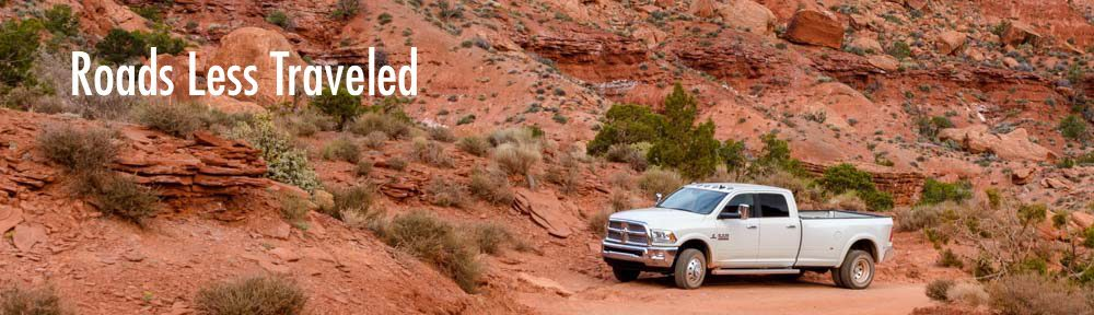 Dodge Ram 3500 Dually Truck Valley of the Gods Utah