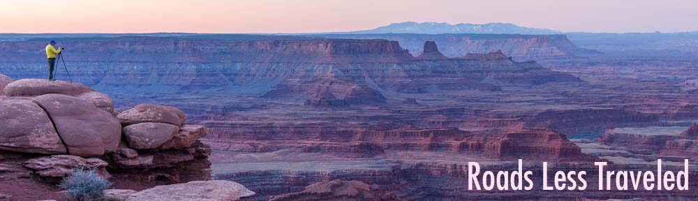RV Travel Photography at Dead Horse Point State Park Utah