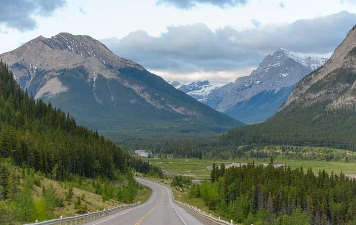 Kananaskis Country RV travel Canada Rocky Mountains