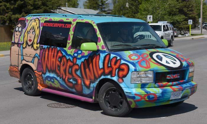 RV adventure Canmore Alberta Canada