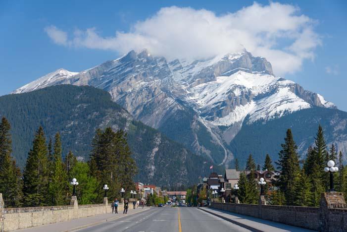 Cascade Mountain Banff Alberta Canada