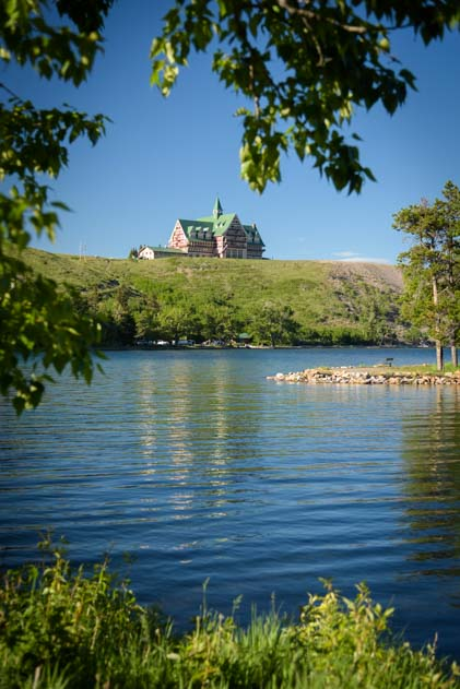 Prince of Wales Hotel Waterton Lakes National Park Alberta Canada