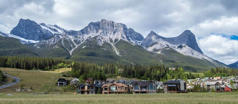 Fancy homes Canmore Alberta Canada
