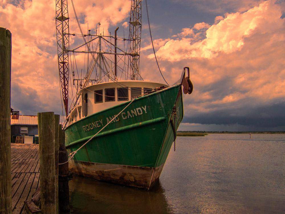 Shrimp boat Apalachicola Florida