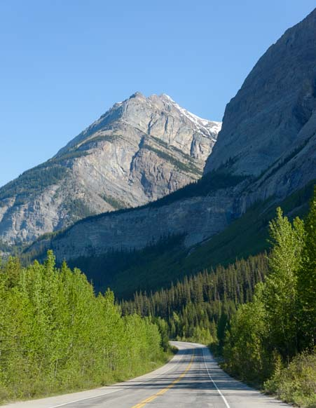 Icefields Parkway Jasper National Park Alberta Canada
