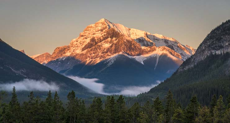 Sunrise Kananaskis Country Canadian Rockies