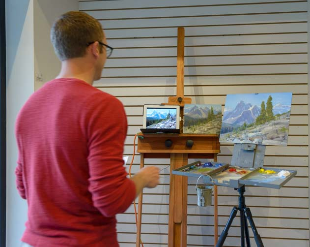Artist in Residence Program Fairmont Banff Springs Hotel Banff Alberta Canada