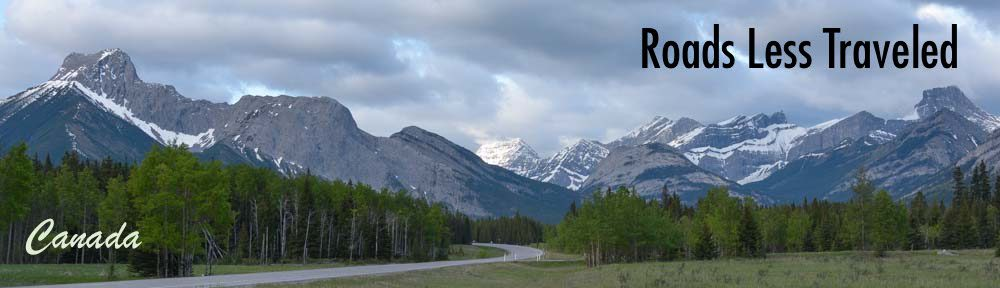 Kananaskis Country Canada RV travel Canadian Rockies