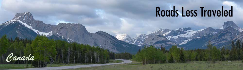 Kananaskis Country Canada RV travel Canadian Rockies