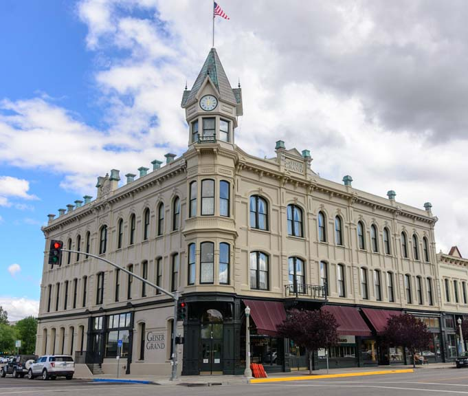 Geiser Grand Hotel Baker City Oregon
