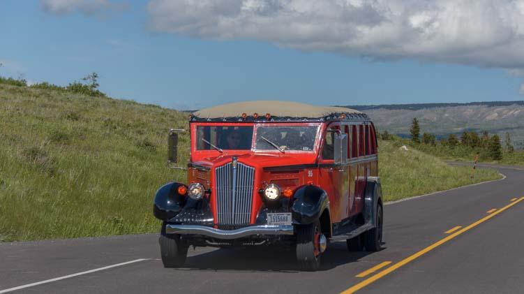 Glacier National Park Red Bus Tour