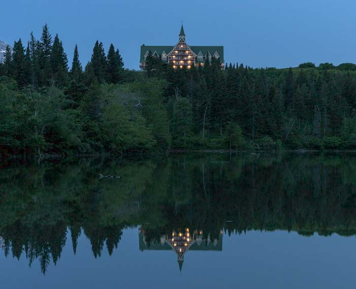 Prince of Wales Hotel Waterton Lakes National Park Canada