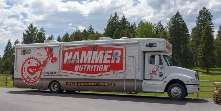 Hammer Nutrition Truck Whitefish Montana