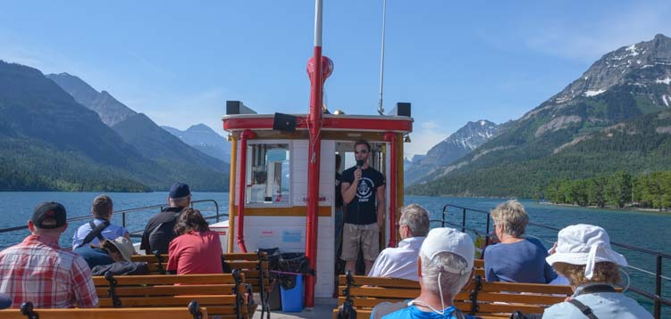 Waterton Shoreline Cruise Waterton Lakes National Park Canada