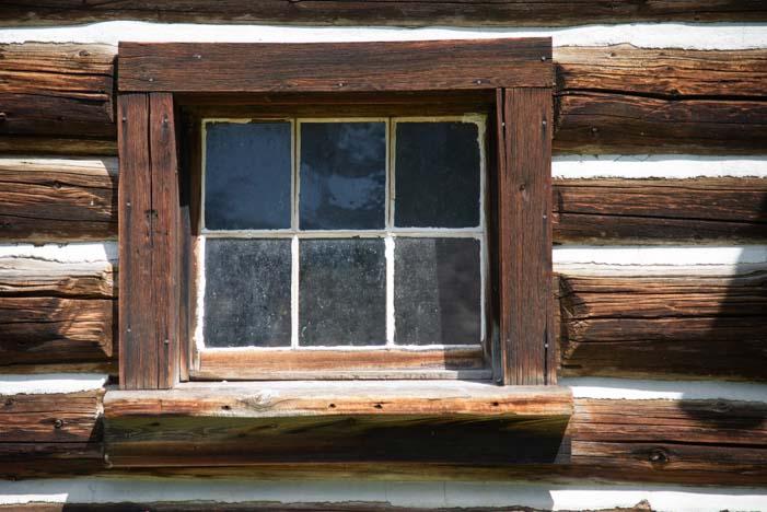 Ranger's house St Mary Glacier National Park Montana