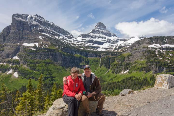 Happy Campers Glacier National Park Montana