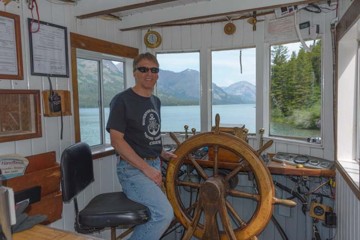 Pilothouse Waterton Shoreline Cruise Waterton Lakes National Park Canada