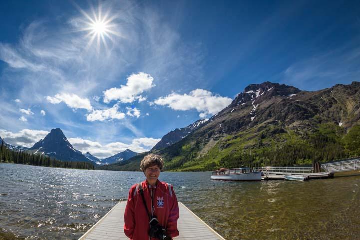 Starburst Two Medicine Glacier National Park Montana