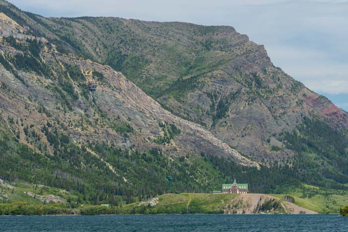 Prince of Wales Hotesl Waterton Shoreline Cruise Waterton-Glacier National Park_