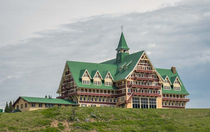 Prince of Wales Hotel Waterton Shoreline Cruise Waterton Lakes National Park Canada