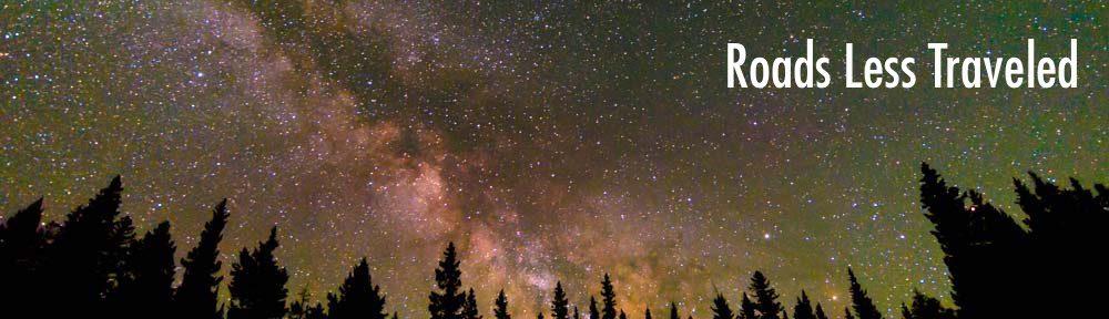 Milky Way Stars RV Camping Canada