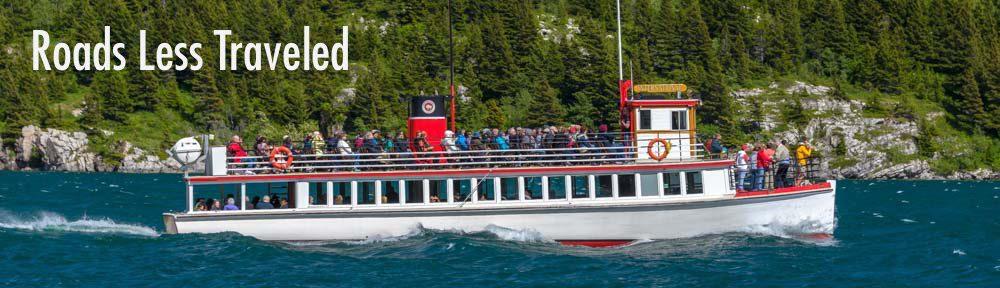 Waterton Shoreline Cruise Waterton-Glacier National Park Waterton Lakes Canada