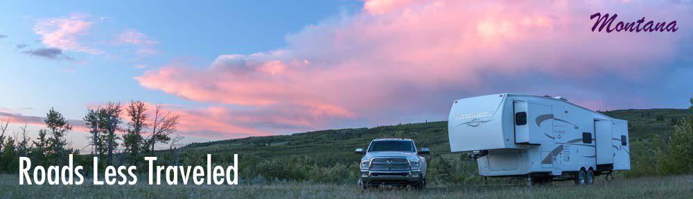 RVing Glacier National Park a Montana RV trip