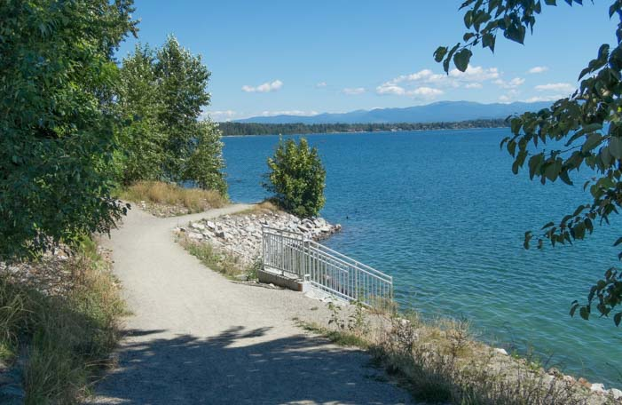 Pend Oreille Bay Trail Sandpoint Idaho