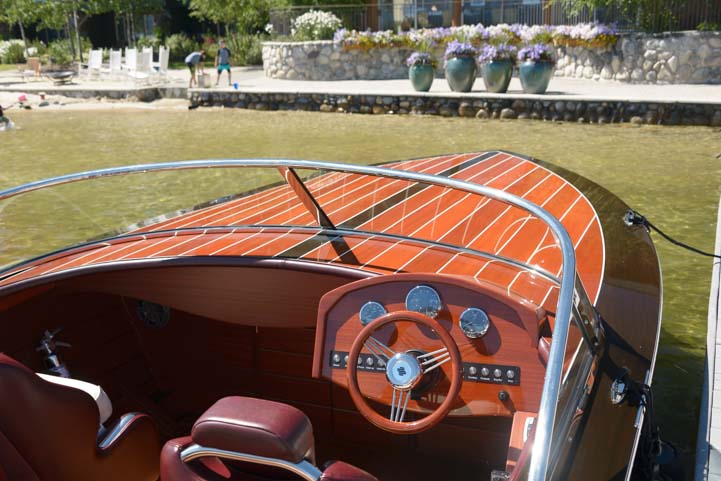 Antique and classic boat show Shore Lodge Payette Lake McCall Idaho
