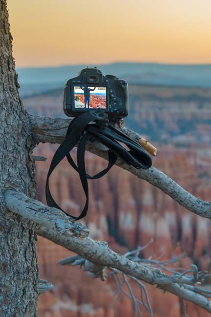Camera Bryce Canyon National Park Inspiration Point Utah