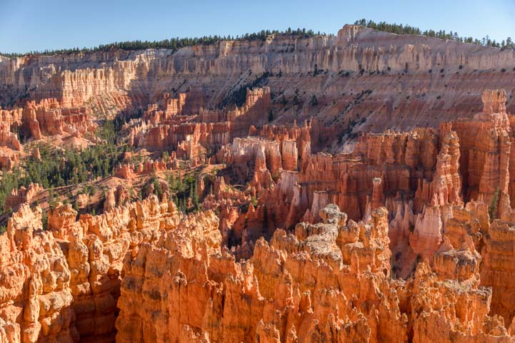 Rim Trail Hoodoos Bryce Canyon National Park Inspiration Point Utah