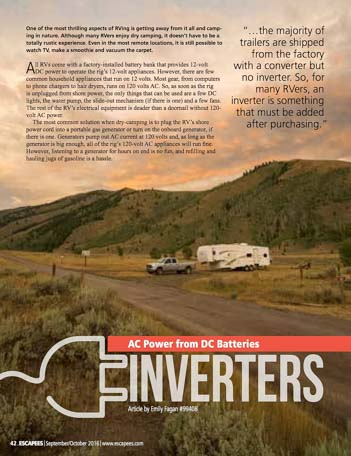 RV Power Inverters