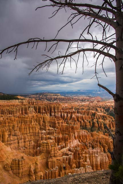 Storm at Bryce Canyon National Park Inspiration Point Utah