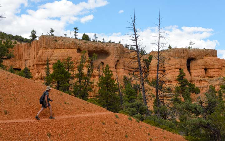 Hiking the Bird's Eye Trail Red Canyon Utah