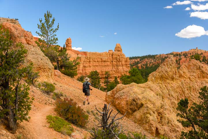 Bird's Eye Trail hike in Red Canyon Utah