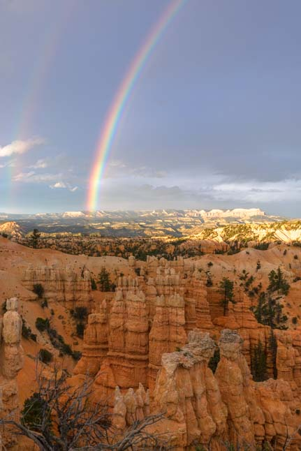 Rainbow Fairyland Point Bryce Canyon National Park Utah