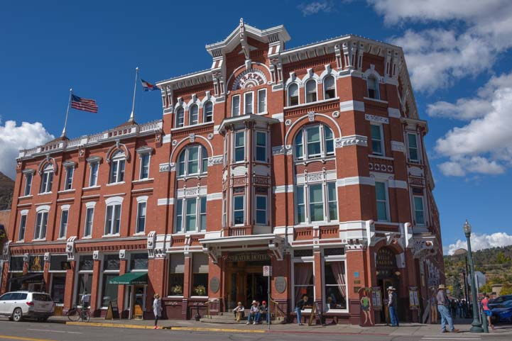 Strater Hotel Durango Colorado