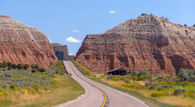 Scenic Byway 12 Utah RV trip