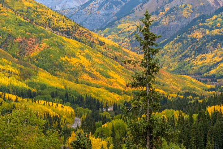 San Juan Skyway Colorado Rocky Mountains Colorful valleys