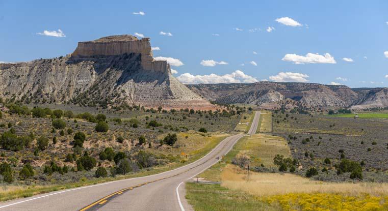 RV trip Scenic Byway 12 Utah