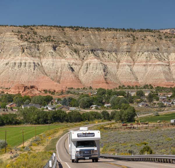 RV Utah Scenic Byway 12