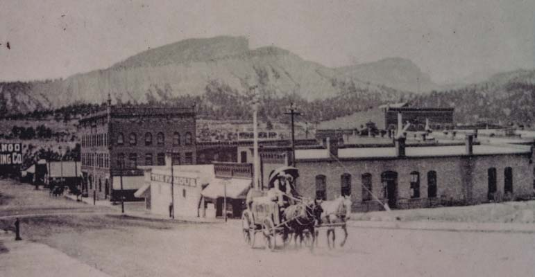 Durango Colorado Main Street 1896