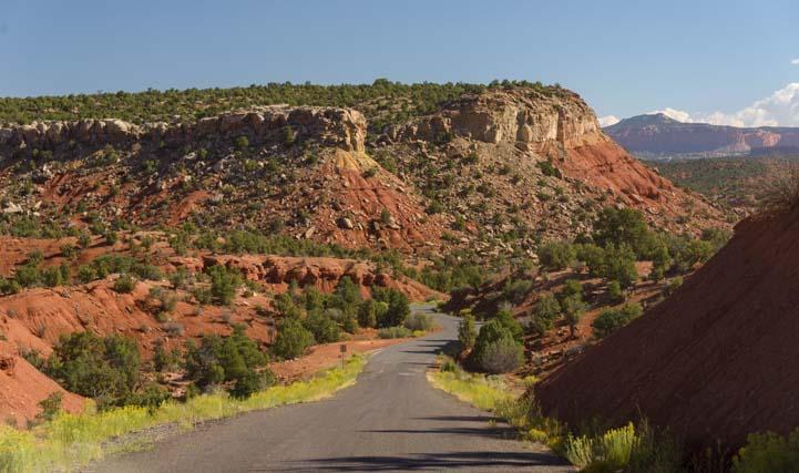 Burr Trail Scenic Byway 12 Utah