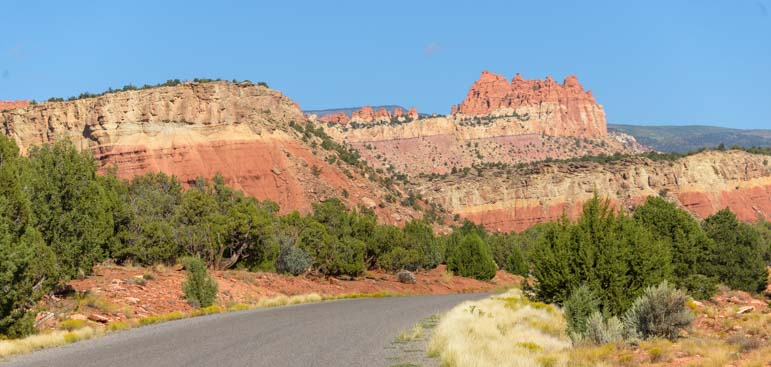 Scenery Burr Trail Scenic Byway 12 Utah