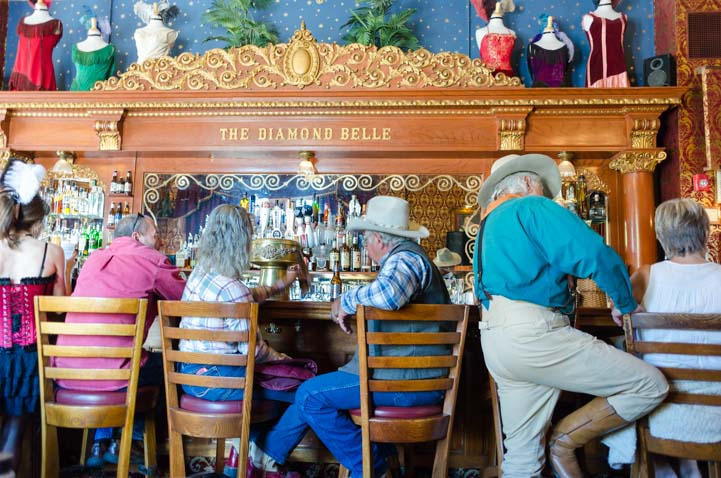 Bar Diamond Belle Saloon Strater Hotel Durango Colorado